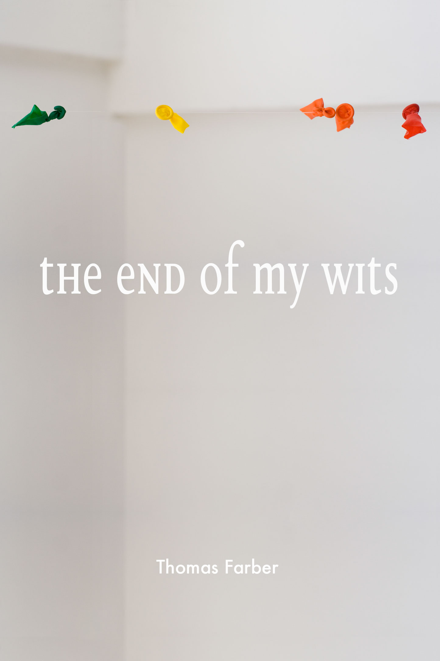 The end of my wits Cover
